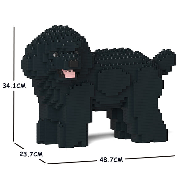 JEKCA Animal Building Blocks Kit for Kidults Toy Poodle 05C-M02