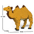 JEKCA Animal Building Blocks Kit for Kidults Camel 01C
