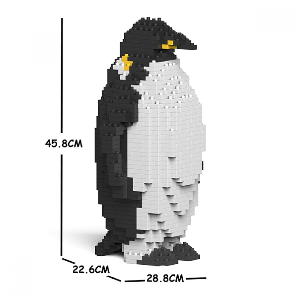 JEKCA Animal Building Blocks Kit for Kidults Emperor Penguin 01C