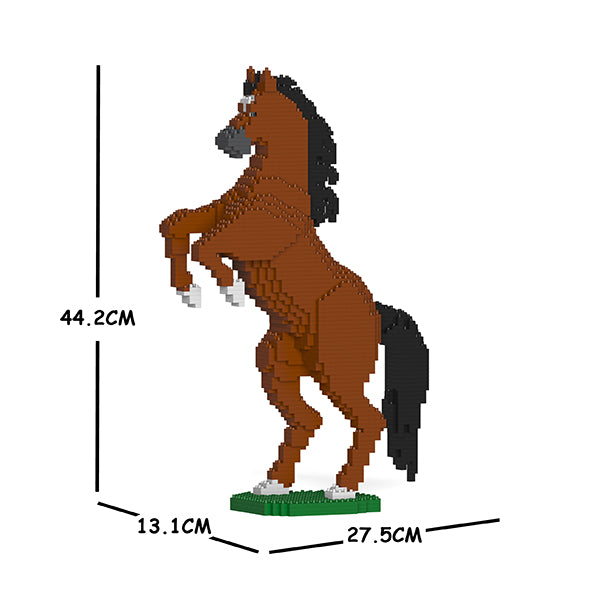 JEKCA Animal Building Blocks Kit for Kidults Horse 03S-M01