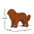 JEKCA Animal Building Blocks Kit for Kidults Newfoundland Dog 01S-M01