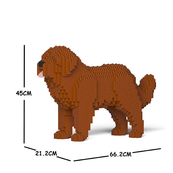 JEKCA Animal Building Blocks Kit for Kidults Newfoundland Dog 01C-M01