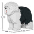 JEKCA Animal Building Blocks Kit for Kidults Old English Sheepdog 01C-M01