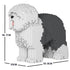 JEKCA Animal Building Blocks Kit for Kidults Old English Sheepdog 01C-M02