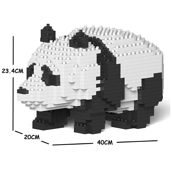 JEKCA Animal Building Blocks Kit for Kidults Panda 02C