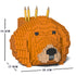 JEKCA Animal Building Blocks Kit for Kidults Golden Retriever Pencil Cup 01S-M01