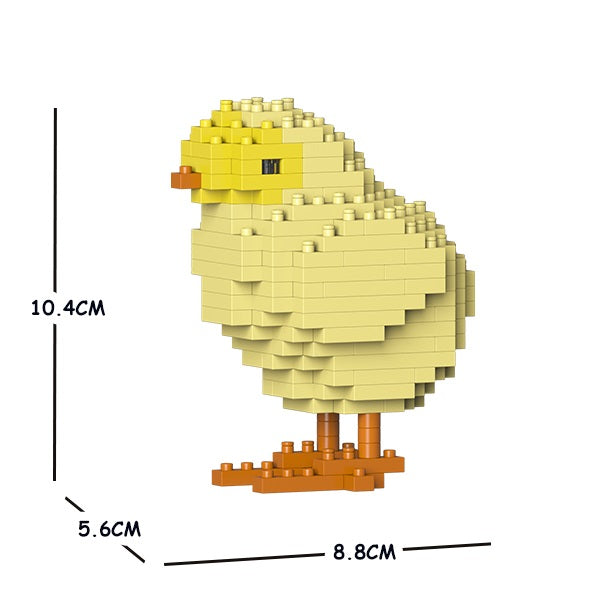 JEKCA Animal Building Blocks Kit for Kidults Chick 01S