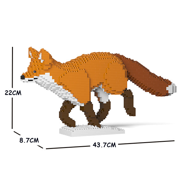 JEKCA Animal Building Blocks Kit for Kidults Fox 05S