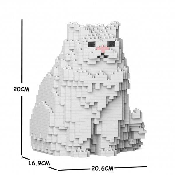 JEKCA Animal Building Blocks Kit for Kidults Persian Cat 01S-M01