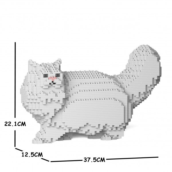 JEKCA Animal Building Blocks Kit for Kidults Persian Cat 02S-M01