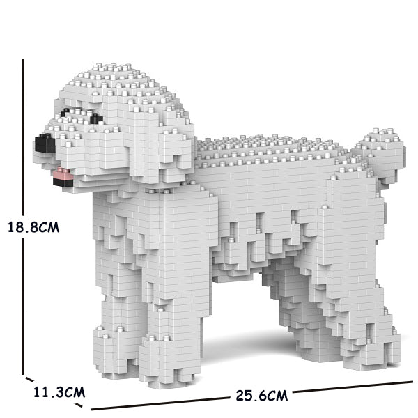 JEKCA Animal Building Blocks Kit for Kidults Toy Poodle 01S-M01