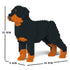 JEKCA Animal Building Blocks Kit for Kidults Rottweiler 01S