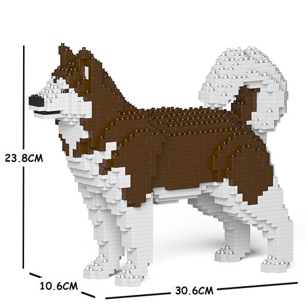 JEKCA Animal Building Blocks Kit for Kidults Alaskan Malamute 01S-M02