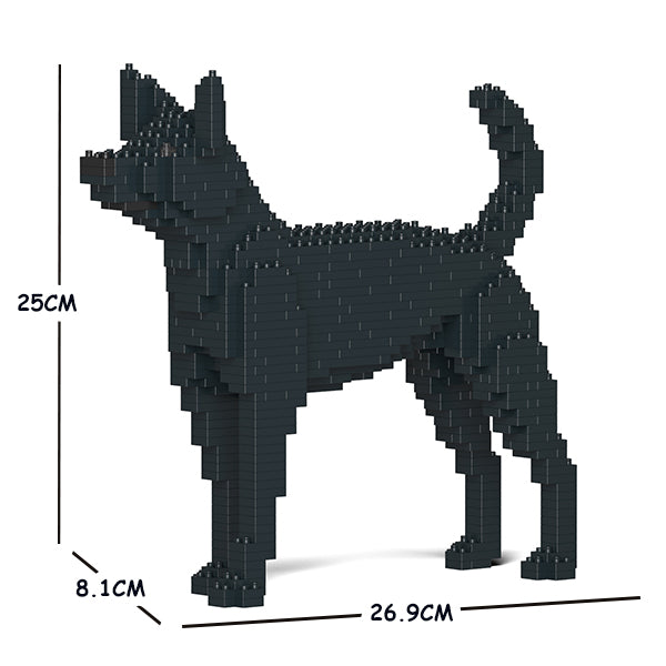 JEKCA Animal Building Blocks Kit for Kidults Formosan Mountain Dog 01S