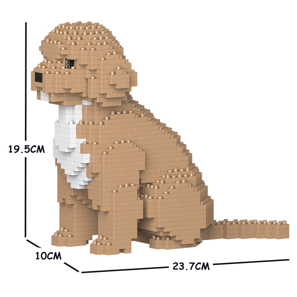 JEKCA Animal Building Blocks Kit for Kidults Cockapoo 01S-M01