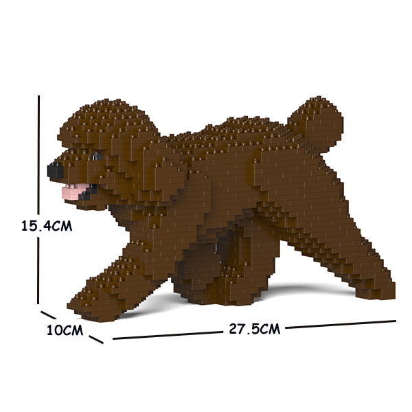 JEKCA Animal Building Blocks Kit for Kidults Toy Poodle 02S-M05