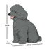 JEKCA Animal Building Blocks Kit for Kidults Toy Poodle 03S-M06