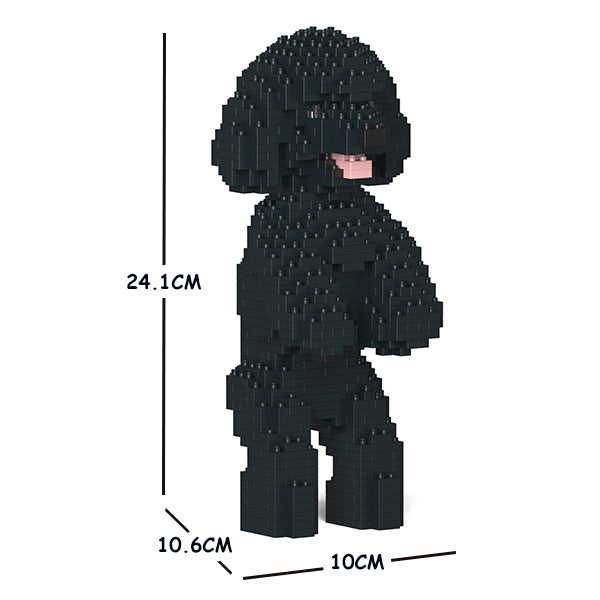 JEKCA Animal Building Blocks Kit for Kidults Toy Poodle 04S-M02
