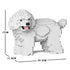 JEKCA Animal Building Blocks Kit for Kidults Toy Poodle 05S-M01