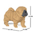 JEKCA Animal Building Blocks Kit for Kidults Shar Pei 01S-M01