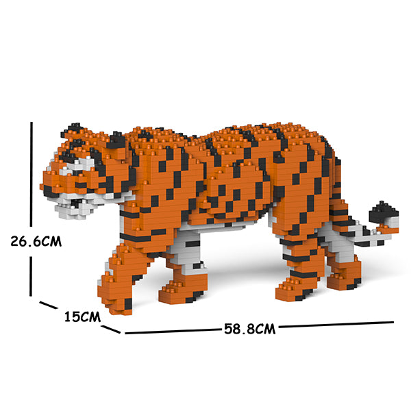 JEKCA Animal Building Blocks Kit for Kidults Tiger 01C