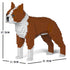 JEKCA Animal Building Blocks Kit for Kidults Boston Terrier 01S-M02