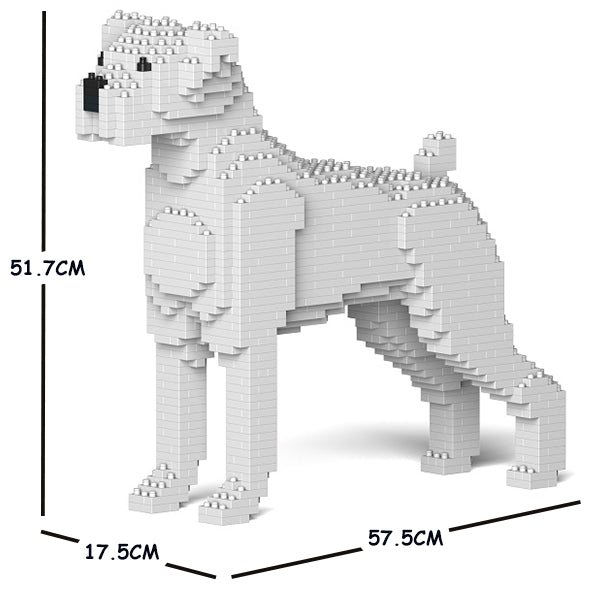 JEKCA Animal Building Blocks Kit for Kidults Boxer 01C-M03