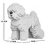 JEKCA Animal Building Blocks Kit for Kidults Bichon Frise 01C