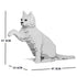JEKCA Animal Building Blocks Kit for Kidults Cat 08S-M01