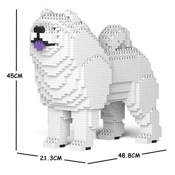 JEKCA Animal Building Blocks Kit for Kidults Chow Chow 01C-M03