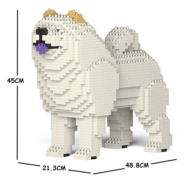 JEKCA Animal Building Blocks Kit for Kidults Chow Chow 01C-M04