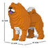 JEKCA Animal Building Blocks Kit for Kidults Chow Chow 01S-M01