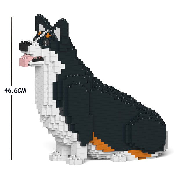 JEKCA Animal Building Blocks Kit for Kidults Welsh Corgi 03C-M03