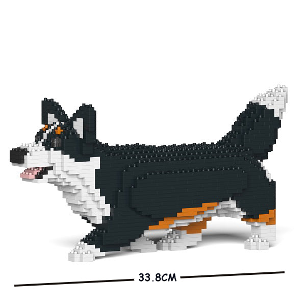 JEKCA Animal Building Blocks Kit for Kidults Welsh Corgi 04S-M03