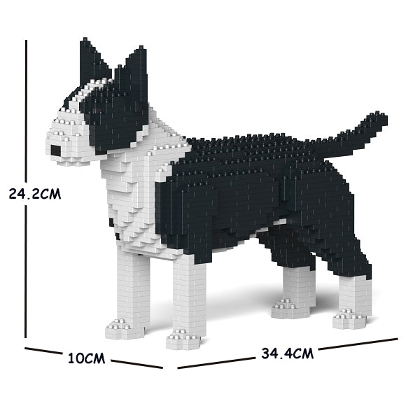 JEKCA Animal Building Blocks Kit for Kidults English Bull Terrier 01S-M01