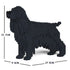 JEKCA Animal Building Blocks Kit for Kidults English Cocker Spaniel 01S-M02