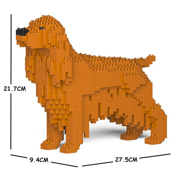 JEKCA Animal Building Blocks Kit for Kidults English Cocker Spaniel 01S-M03
