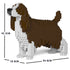 JEKCA Animal Building Blocks Kit for Kidults English Springer Spaniel 01C-M03