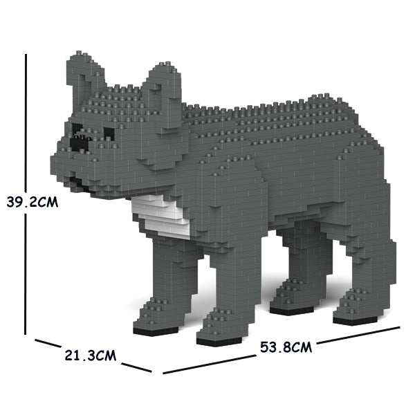JEKCA Animal Building Blocks Kit for Kidults French Bulldog 01C-M07