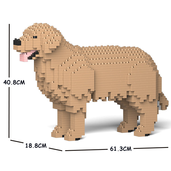 JEKCA Animal Building Blocks Kit for Kidults Golden Retriever 01C-M04