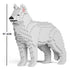 JEKCA Animal Building Blocks Kit for Kidults Husky 01C-M02