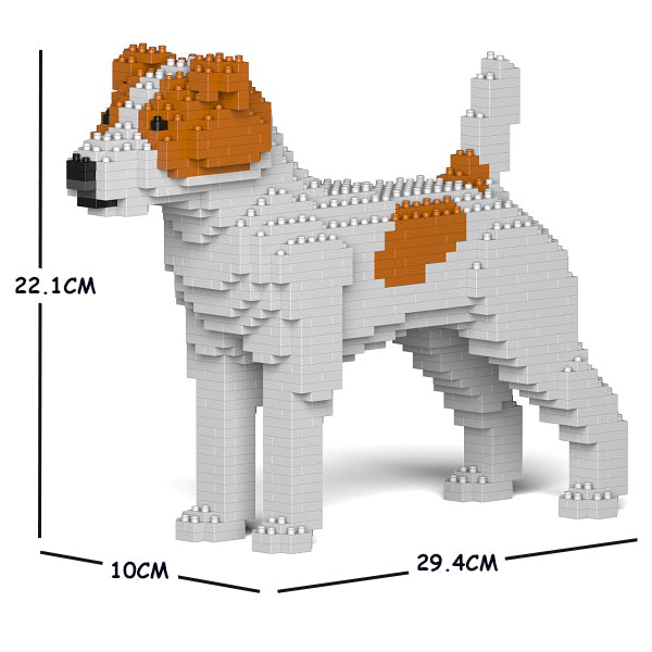 JEKCA Animal Building Blocks Kit for Kidults Jack Russell Terrier 01S-M01