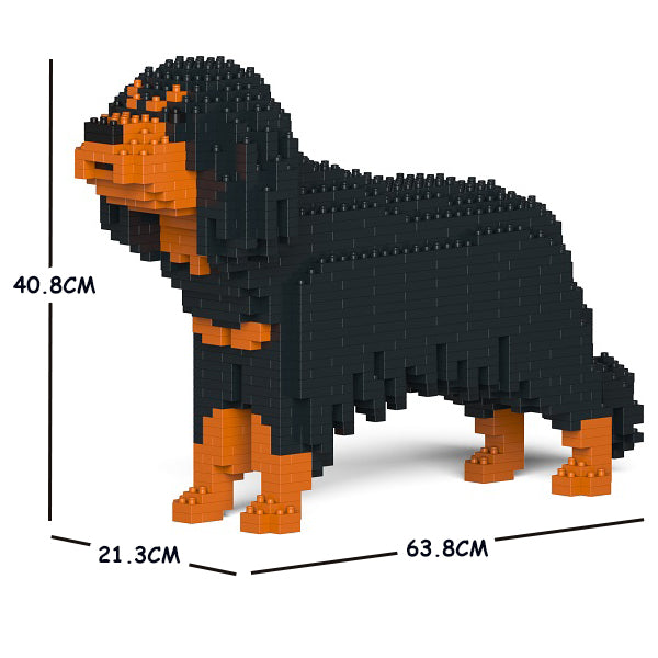 JEKCA Animal Building Blocks Kit for Kidults Cavalier King Charles Spaniel 01C-M04