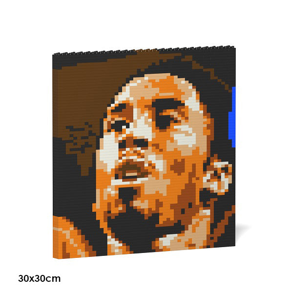 JEKCA Animal Building Blocks Kit for Kidults Kobe Bryant Brick Painting 01S