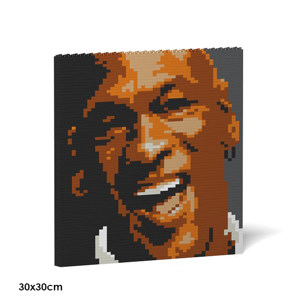 JEKCA Animal Building Blocks Kit for Kidults Michael Jordan Brick Painting 04S