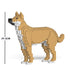 JEKCA Animal Building Blocks Kit for Kidults Mongrel 01S-M01