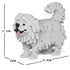 JEKCA Animal Building Blocks Kit for Kidults Pekingese 01S