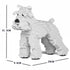 JEKCA Animal Building Blocks Kit for Kidults Standard Schnauzer 01S-S01