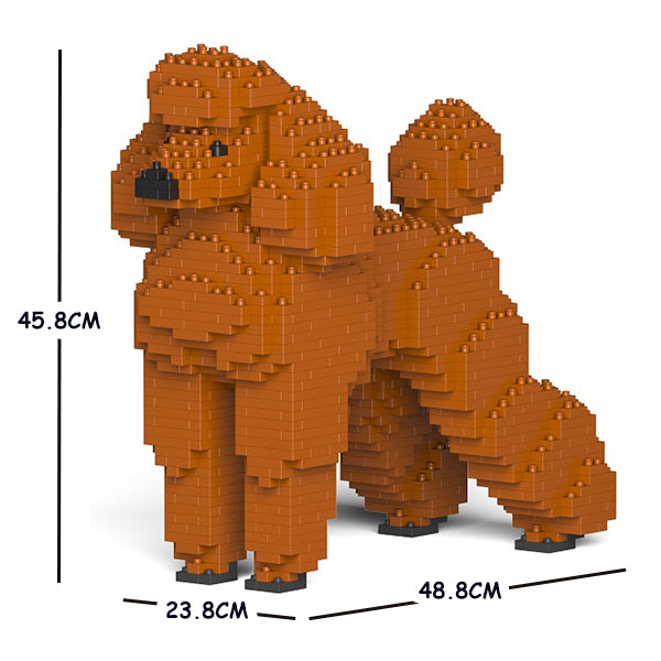 JEKCA Animal Building Blocks Kit for Kidults Standard Poodle 01C-S13