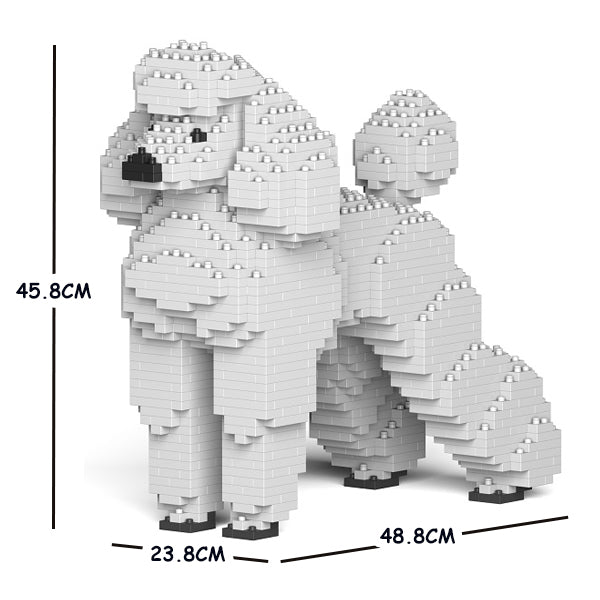 JEKCA Animal Building Blocks Kit for Kidults Standard Poodle 01C-S01